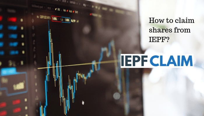 How to claim shares from IEPF?
