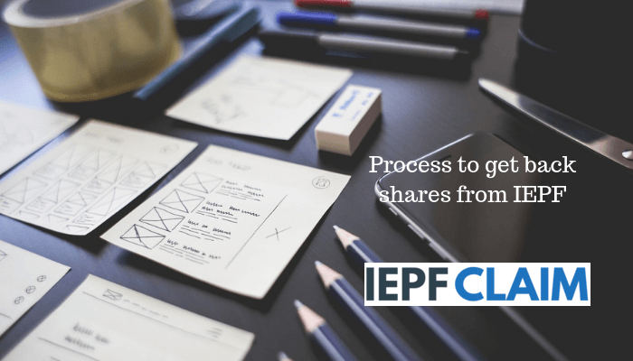 Process to recover shares from IEPF