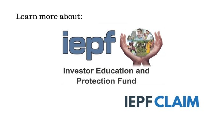 Investor Education and Protection Fund